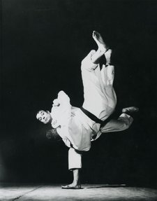 Klein performing a Judo throw