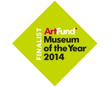 The Art Fund Museum of the Year 2014 finalist logo