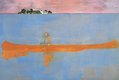 Peter Doig 100 Years Ago 2000 oil on canvas, 200 x 295.5 cm