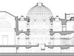 Tate Britain Millbank Project: Cross Section