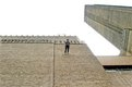 Trisha Brown, Man Walking Down the Side of a Building 1970