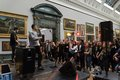 Loyle Carner performs at BP Loud Tate: Code in 2014 at Tate Britain