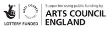 Arts Council Lottery funded logo