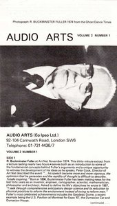 Audio Arts: Volume 2 No 1