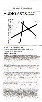 Audio Arts: Volume 2 No 2