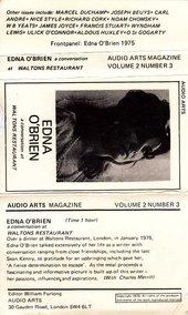 Audio Arts: Volume 2 No 3