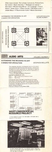 Audio Arts: Volume 3 No 1