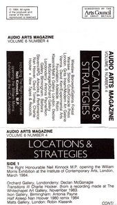 Audio Arts: Volume 6 No 4