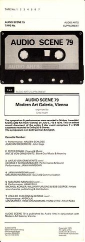 Audio Arts: Audio Scene 79
