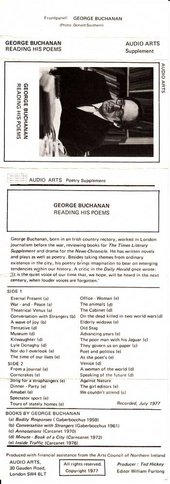 Audio Arts: George Buchanan Song for Straphangers