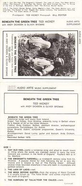 Audio Arts: Ted Hickey, Beneath the Green Tree