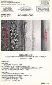 Audio Arts: Richard Long