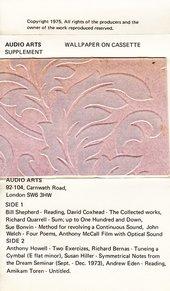 Audio Arts: Wallpaper