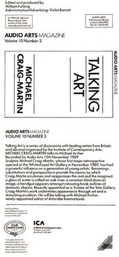 Audio Arts: Volume 10 No 3