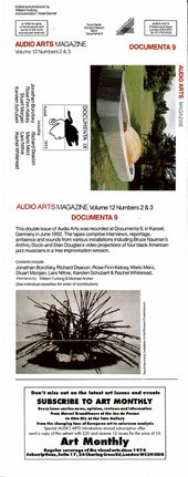 Audio Arts: Volume 12 No 2 & 3