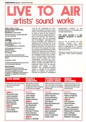 Audio Arts: Volume 5 No 3 & 4