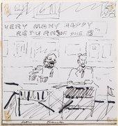 Frank Auerbach - through the eyes of Lucian Freud