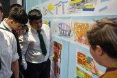A Curious Line: The Bow School Public Art Project