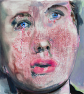 Close up: For Whom the Bell Tolls by Marlene Dumas