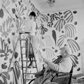 'It was like drawing, but with scissors… there was sensuality in the cutting'