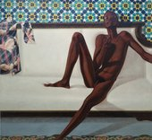 Family Jules: NNN (No Naked Niggahs) 1974 by Barkley L. Hendricks
