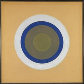 Gift 1961–2 by Kenneth Noland