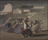 The Deluge 1920 by Winifred Knights