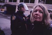 Waiting for Tear Gas 1999–2000 by Allan Sekula