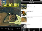 Gauguin Multimedia Guide and iPhone app