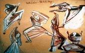 Dances with sculpture
