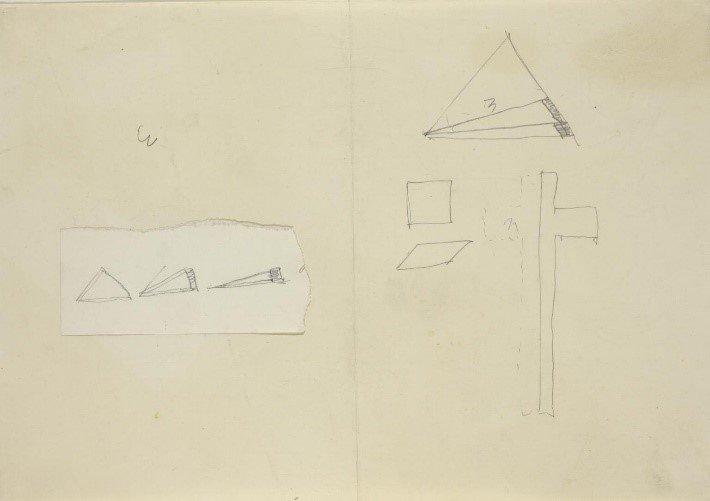 Fig.6 Joseph Beuys, Partitura per MANRESA 1966