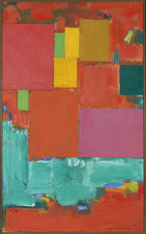 Abstract Artist Hans Hofmann
