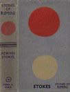 Dust jacket of Stones of Rimini 1934 designed by Ben Nicholson