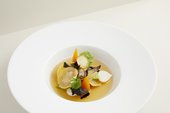 ​'Mock Turtle Soup' a dish inspired by an 1800's recipe​