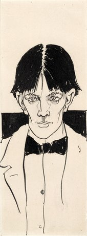 Self portrait of Aubrey Beardsley