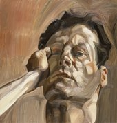 Lucian Freud Man's Head (Self-Portrait I) 1963 Whitworth Art Gallery (Manchester, UK) © The Lucian Freud Archive / Bridgeman Images