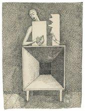 Alberto Giacometti Surrealist Composition c. 1933