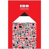 Cover of Dominika Lipniewska's book 100 Christmas Colouring Book