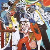 R.B. Kitaj The Wedding 1989-93 Tate Presented by the artist 1993