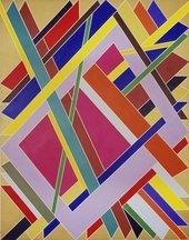 William T. Williams Trane 1969 Studio Museum in Harlem (New York, USA) © William T. Williams; Courtesy of Michael Rosenfeld Gallery LLC, New York, NY