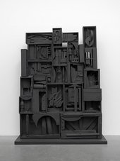 Fig.10 Louise Nevelson, Black Wall 1959