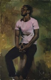 Lynette Yiadom-Boakye Coterie Of Questions 2015 Private Collection