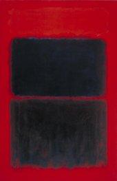 Mark Rothko, Light Red over Black 1957