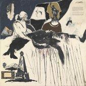 R.B. Kitaj, The Murder of Rosa Luxemburg 1960