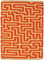 Anni Albers Red Meander 1954 Private Collection © Estate of Anni Albers; ARS, NY & DACS, London 2018