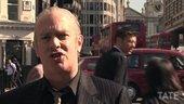 Still image of Cartoonist Martin Rowson talks about Hogarth's London