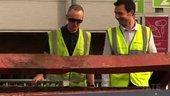 Still image of Michael Landy on the Scrap Heap