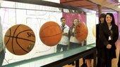 "Still image of 3 Minute Wonder: Jeff Koons ""Three Ball Total Equilibrium Tank"""