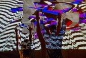 Audience members enjoying an installation at Late at Tate Britain: Disrupt, 2015. Photo © Diana Agunbiade-Kolawole