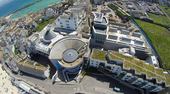 Birds eye view of Tate St Ives